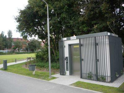 2 automatyczne toalety w parku Stare Koryto Warty