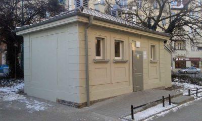 Zmodernizowana toaleta na Rynku Wildeckim